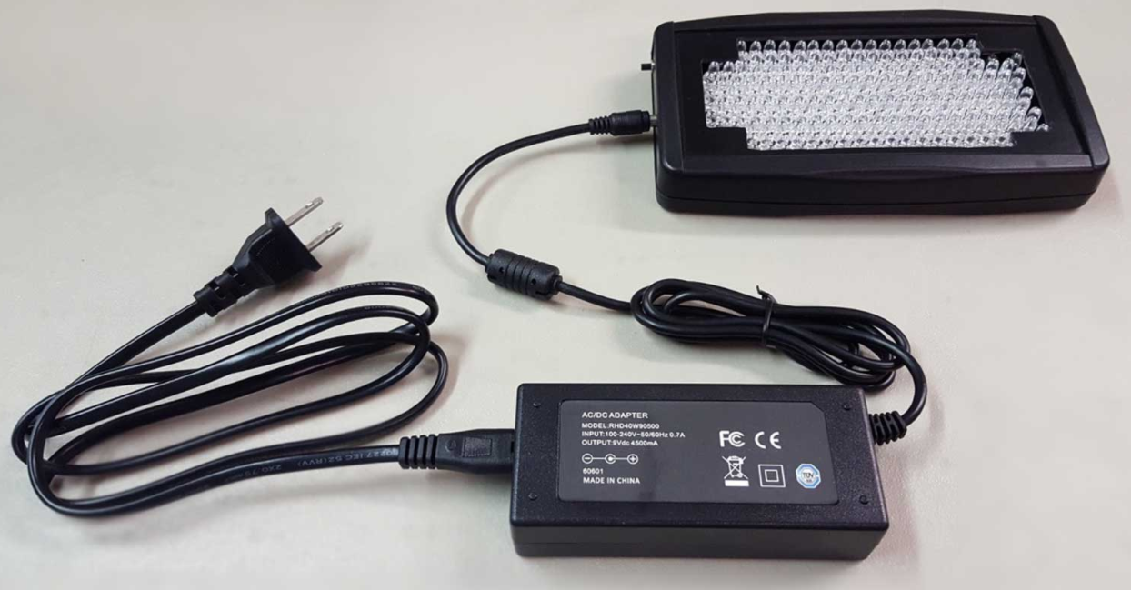 LZR UltraBright laser module with power supply and AC cord